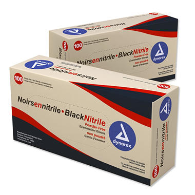 Nitrile Examination Gloves - Powder Free - Various Sizes