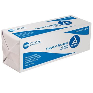 Dynarex Non-Sterile Gauze Sponges - 2