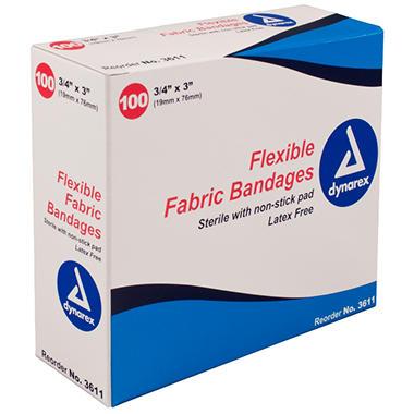 Dynarex Flexible Sterile Bandage - 3/4