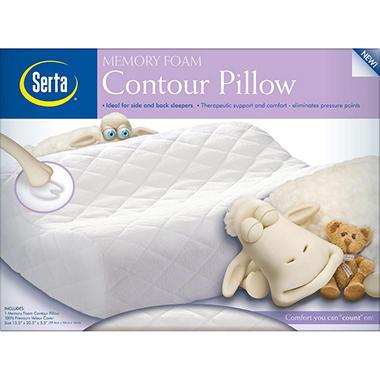 Serta Memory Foam Contour Pillow - Standard Size