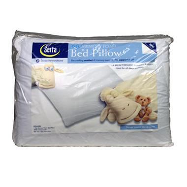 Serta Gel Foam Pillow
