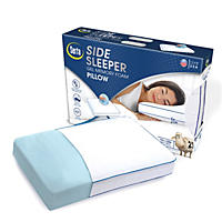 Serta Gel Memory Foam Side Sleeper Pillow