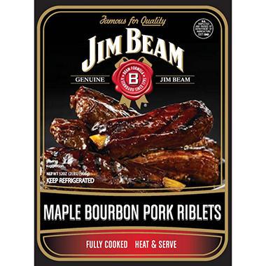 Jim Beam Maple Bourbon Pork Riblets - 32 oz.