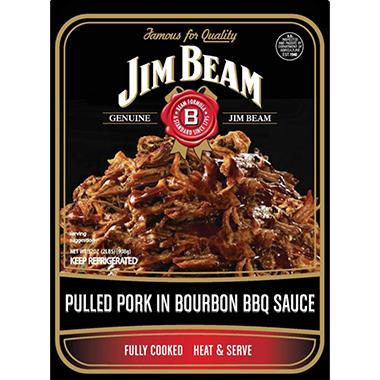 Jim Beam Pulled Pork in Bourbon BBQ Sauce - 32 oz.