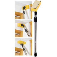 Dustless Drywall sander with 7' extendable pole