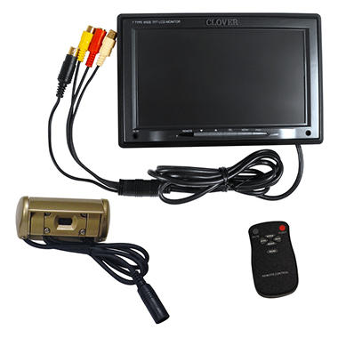 "Clover 7"" Color Rear-View Camera System"