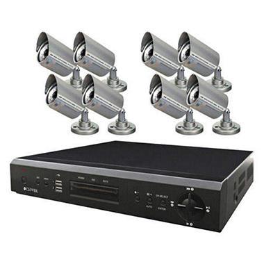 16CH DVR Bundle System w/ 8 Cameras