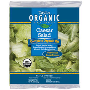 Taylor Farms Organic Caesar Salad Kit