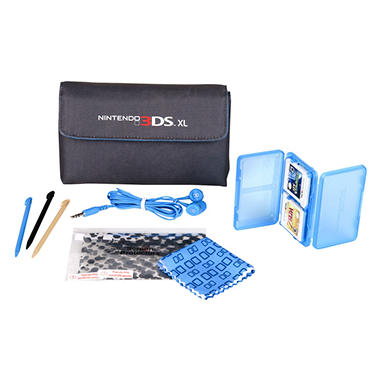 Power A Blue 3DS XL Starter Kit
