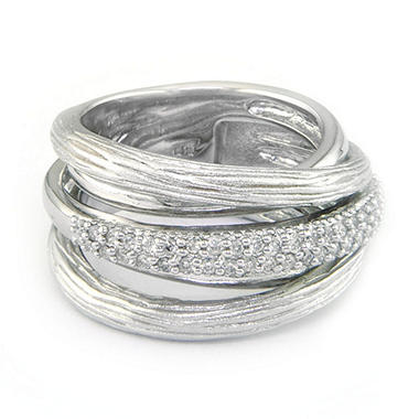 .33 ct. t.w. Diamond & Sterling Silver Band (H-I, I1)