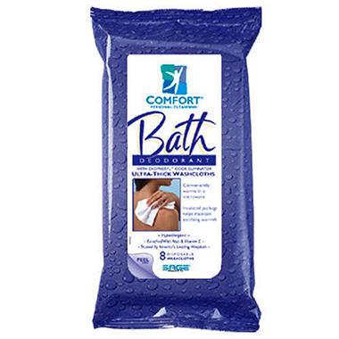 Deodorant Bath Cleansing Washcloths-8ct.- 44cs