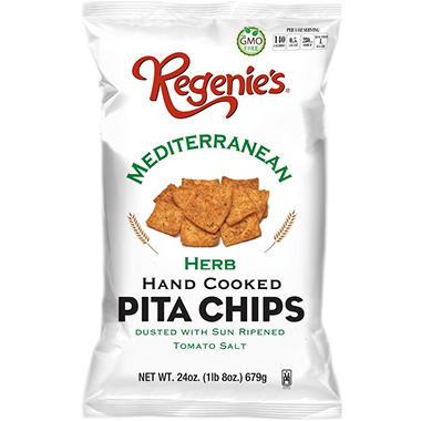 Regenie's Mediterranean Herb Pita Chips (24 oz.)