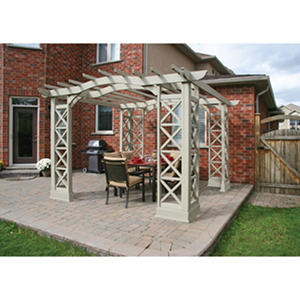 Yardistry 12' x 12' Arched Roof Pergola