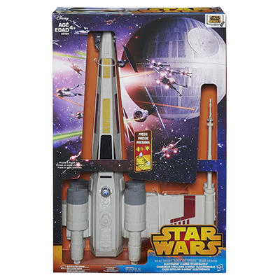 Star Wars Hero Series Electronic X-Wing Fighter Vehicle