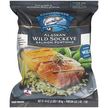 Copper River Seafoods Alaskan Wild Sockeye - 48 oz.