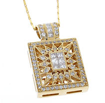 .84 ct. t.w. Diamond Pendant (H-I, SI2-I1)