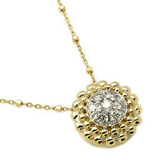 0.50 ct. t.w. Diamond Cluster Pendant in 14K Yellow Gold (H-I, I1)