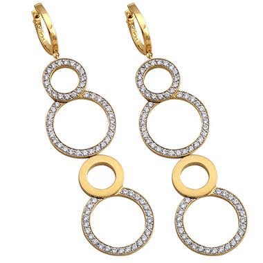 1 65 Ct T W Diamond Earrings In 14k Yellow Gold Sam S Club
