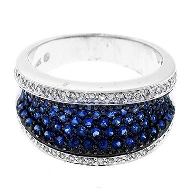 1.13 ct. t.w. Sapphire & Diamond Ring