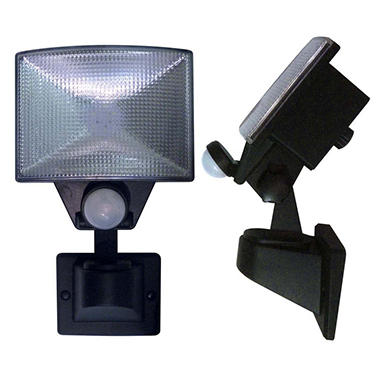 hoover motion activated led outdoor security light 2 pack sam 39 s club. Black Bedroom Furniture Sets. Home Design Ideas