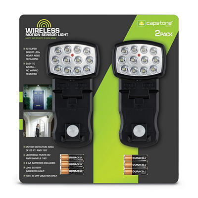 Wireless Motion Sensor Light - 2 pk.