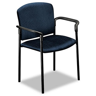 HON - Pagoda 4070 Series Stacking Arm Chairs, Mariner - 2 Pack