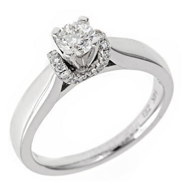 .50 ct. t.w. Regal Diamond Solitaire Plus Ring (I, SI2)