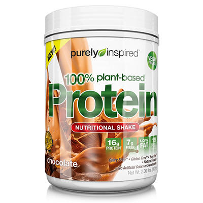 Purely Inspired 100% Plant Based Protein, Chocolate (2 lbs.)