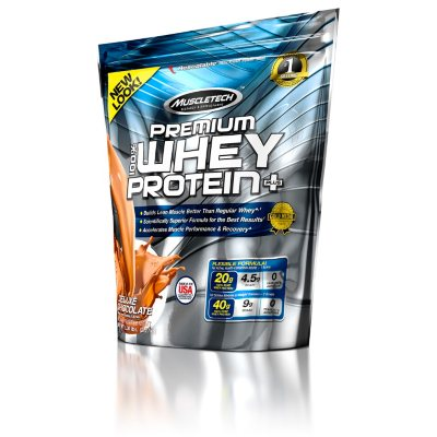 MuscleTech Premium Whey Protein - Chocolate - 5 lbs.