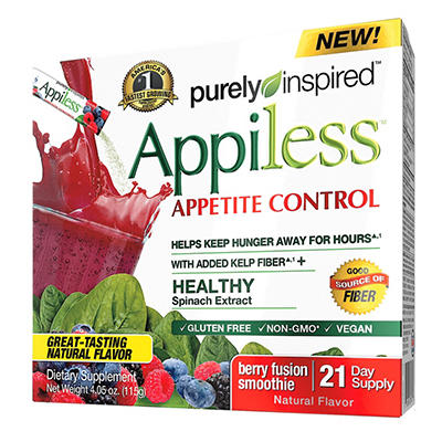 Purely Inspired Apiless Appetite Control, Berry Fusion (21 day supply)