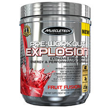 MuscleTech Pre-Workout Explosion, Fruit Fusion (8.64 oz.)