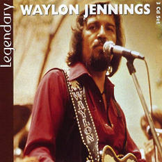 Waylon Jennings: Legendary - 3 CD Set