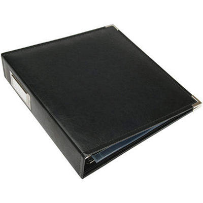 We R Faux Leather 3-Ring Binder