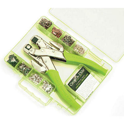 Crop-A-Dile Punch Kit-Lime
