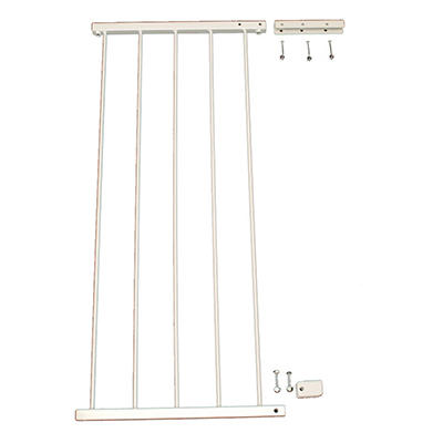 Cardinal Gates Height Extension for the Duragate - White