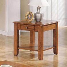 Logan Oak End Table