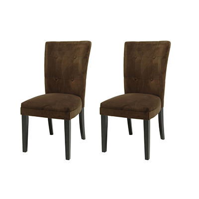 Midtown Chocolate Parsons Chairs (2 pk.)