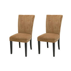 Midtown Camel Parsons Chairs (2 pk.)