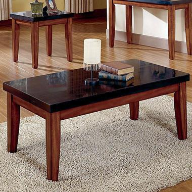 Mattoni Granite Top Cocktail Table