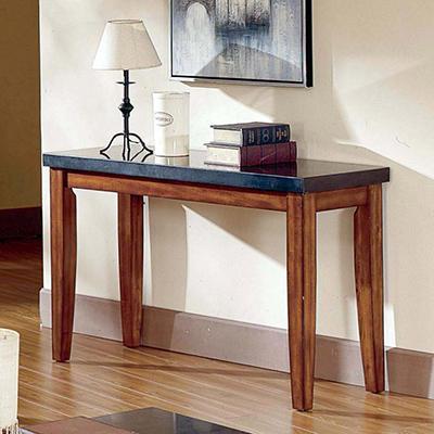 Mattoni Granite Top Sofa Table