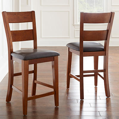 Weston Counter Height Chairs - Mango (2 pk.)