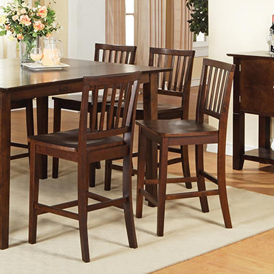 Ava Counter Height Dining Chairs - Espresso - 2 pk.