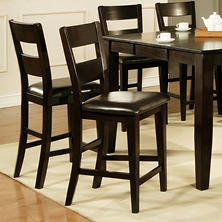 Weston Counter Height Chairs -  Espresso - 2 pk.