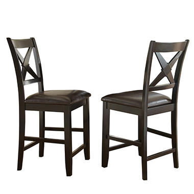 Counter Height Chair Dimensions : Victor Counter-Height Chairs, Set of 2 - Sams Club