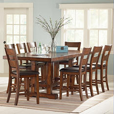 Ziva Counter-Height Dining 9-Piece Set