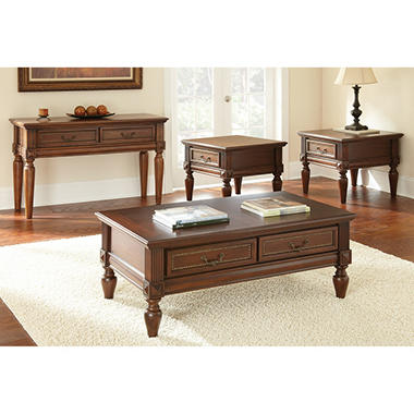4 Piece Darien Occasional Table Set Sam 39 S Club