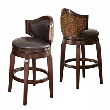 Justin Bar Stool 2pk Sam S Club