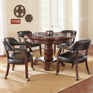 Talley Dining and Game Table Set (Assorted Colors)