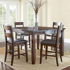 Wescott Counter-Height Table and Chairs 5-Piece Dining Set