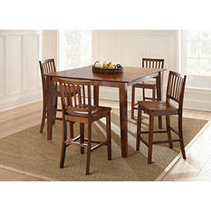 Bia Counter-Height Dining Table and Stools Set (Assorted Sizes)